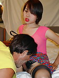 Guy fucks ladyboy in panties