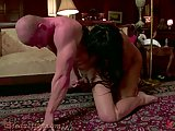 Yasmin Lee fucks white guy in the ass