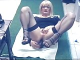 Sexy CD Masturbating In Lingerie