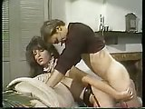 Cute vintage TS maid has a sex with her host