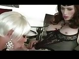 Two skilful tgirls make each other wild