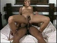 Titty Ladyboy Riding On A Hard Dong Till Creams