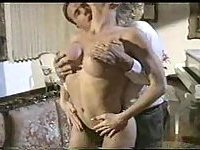 Vintage Movie With A Busty Tranny