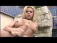 Butty and busty tranny looks so sexy!