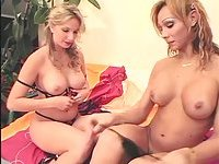 Transsexual Beauty Queen Fucked By Strapon