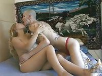 Bald TS Blondie Johnson bangs cute chick
