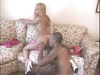 Blonde shemale got laid