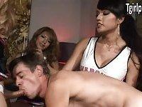 Johanna, Jamie Page and Jessica Fox fuck guy