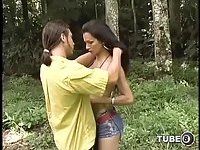 Latina tranny likes fucking in a lonely place