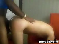 Shemale Enjoying Anal Sex