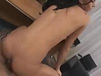 Sexy tranny POV style sex