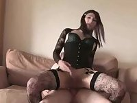 FULLY OUT OF THE CLOSET CROSSDRESSER LOVES DICK UP HER TIGHT BUTTHOLE!