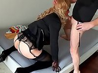 Natacha Mancinelli Sucks & Gets fucked - Crossdresser