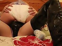 Adult Baby Diaper Tranny fuck