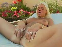 Blonde cock jerker