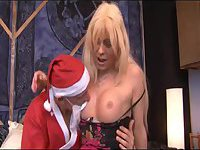 Joanna Jet fuck with the father christmas