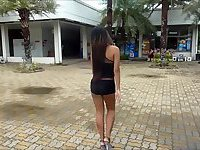 Ladyboy cums a lot