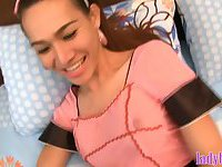 Ladyboy maid gets buttplugged and then fucked in the ass