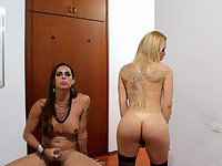 Lohanny Brandao and Laura Araujo Part 3 CUMSHOT