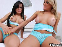 Bruna Butterfly and Juliana Souza Love Anal