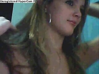 Hot T-Girl Teasing Webcam
