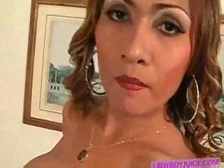 Sultry Tranny Jerking Off Hot