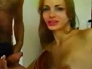 Guy drills tranny after her skilful sucking