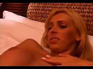 Blonde Tranny In Romantic Banging