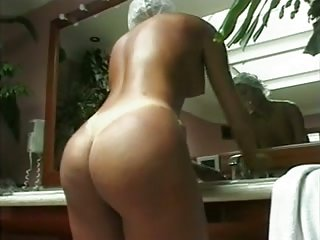 Amazing blonde TS got drilled in ass