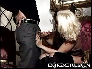 Awesome scene with gorgeous blonde
