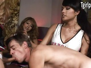Johanna, Jamie Page and Jessica Fox fuck guy