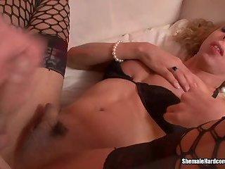 Shemale Secretary Fucks Her Boss